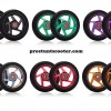 110mm black Scooter Wheels , Pro Scooter Wheels, Cheap Scooter Wheels, Custom Pro Scooter Wheels, Stunt Scooter Wheels