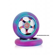 Rainbow Scooter Wheels 110mm , Oilslick Scooter Wheels 110mm , Neochrome Scooter Wheels 110mm ,Rainbow Stunt Scooter Wheels 110mm ,