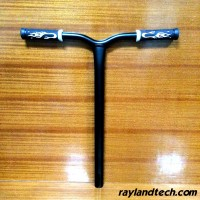 CNC Machined Aluminum Scooter Bars For Sale,ODM Pro Stunt Scooter Bars ,Kick Scooter Handle Bars For Sale