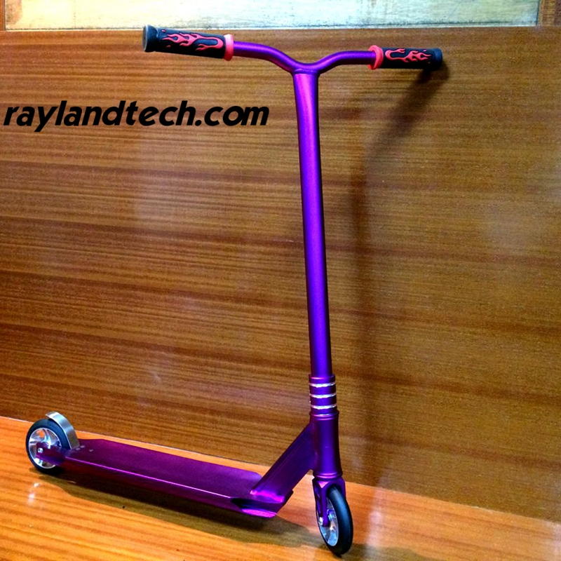 purple cheap stunt scooters wholesale from china manufacturer. Black Bedroom Furniture Sets. Home Design Ideas